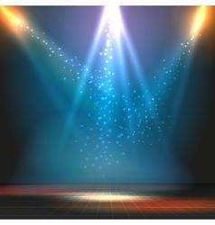 Show or dance floor background vector