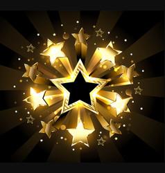 Stellar explosion vector
