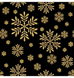Abstract Seamless Background with Gold vector image
