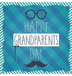 Grandparents poster vector image vector image