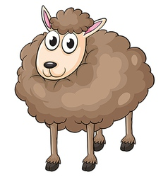 A sheep vector image