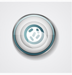 Bacterial microorganism in a circle bacteria vector