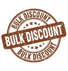 Bulk discount vector
