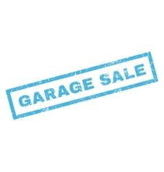 Garage Sale Rubber Stamp vector