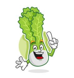 Got an idea lettuce mascot lettuce character vector