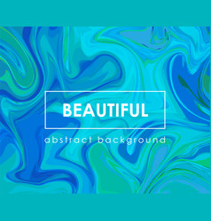 modern abstract liquid background color fluid vector image