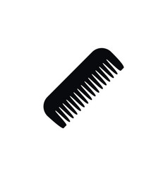 isolated comb icon barbershop element can vector image