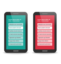 modern user interface design vector image