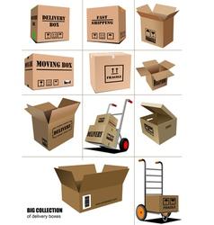 al 0906 boxes vector image vector image