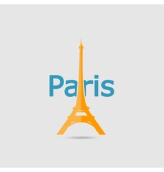 Eiffel Tower set vector image