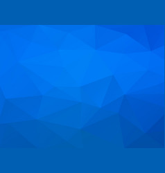 abstract blue polygonal pattern vector image