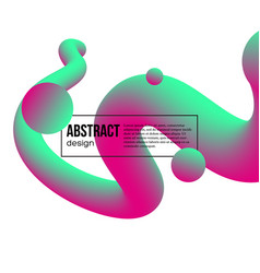 Abstract fluid color background vector