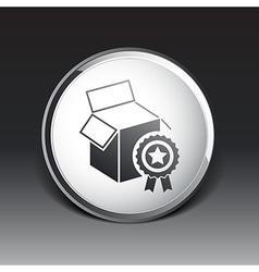 PREMIUM box packing design isolated icon vector