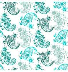 abstract ornament seamless pattern with different vector image