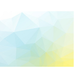 abstract soft color polygonal pattern vector image