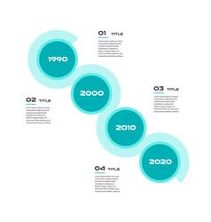angle timeline steps infographics - can vector image