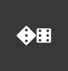 dice icon sign symbol vector image