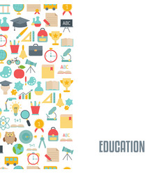 Education design concept education design concept vector