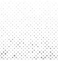 Grey abstract geometric circle pattern background vector