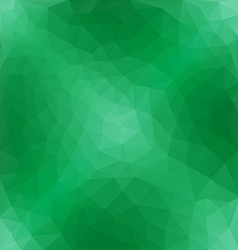 Light Green Polygonal Pattern vector