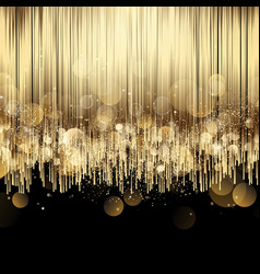 luxury abstract gold background vector image