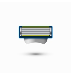 modern razor icon on white background vector image