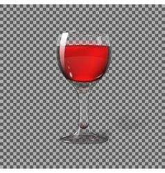 Transparent photo realistic isolated on plaid vector