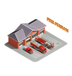 Transport realistic isometric composition vector