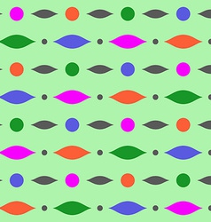 Abstract geometric colorful seamless pattern Over vector image vector image