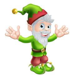 garden gnome or elf vector image