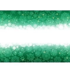Christmas stars green stripes EPS 8 vector image