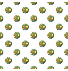 colorful ball pattern vector image