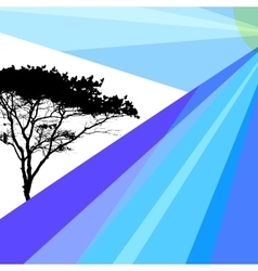 Abstract Images of Nature Tree Brochure Booklet vector image
