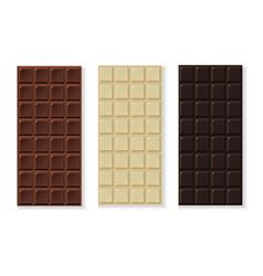 Chocolate milk dark white handmade bio vector
