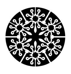 Design mandala decorative flower ornaments modern vector