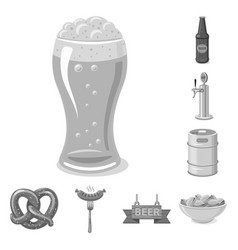 Design of pub and bar icon collection of vector