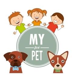 Pet care vector