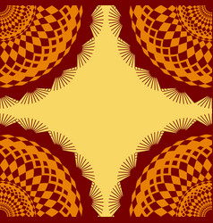 seamless pattern with unusual mexican patterns vector image