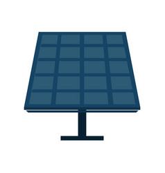 Solar panel cartoon vector