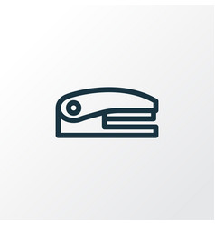 stapler icon line symbol premium quality isolated vector image