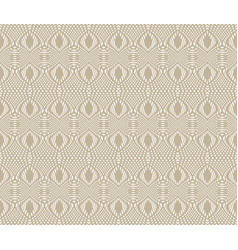 tangier grid seamless guilloche pattern vector image vector image