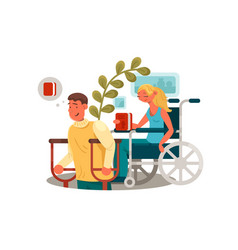 persons with disabilities vector image vector image