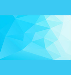 Abstract geometric business blue background vector