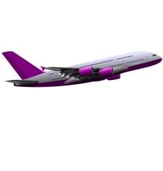 al 0415 plane 01 vector image