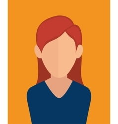 Business people profile vector image
