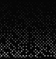 Grey geometric abstract dot pattern background vector