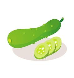 icon vegitable vector image vector image