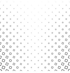 Monochrome square pattern - geometric abstract vector