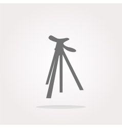Photo tripod photo tripod icon vector