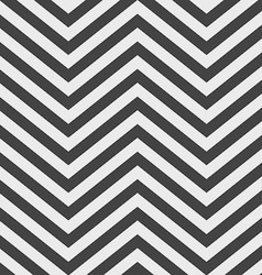Black and White V Shape Chevron Background vector image vector image